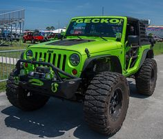 Jeep Beach 2013 Daytona Beach in Transportation Green Jeep Wrangler, Jeep Wrangler Lifted, Jeep Rubicon, Jeep Jk, Jeep Wrangler Unlimited, Jeep Truck, Lifted Jeeps, Lime Green Jeep, Badass Jeep