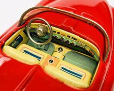 "Exc 1951 Buick Le Sabre Concept Friction Tin Car W/ Box By Yonezawa Japan 8"" NR   eBay Toyota Corona, Buick Lesabre, Ford Fairlane, Tin Toys, Concept, Japan, Cars, Box, Autos"