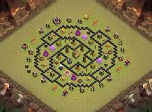M, TH 8 Clash of Clans Base Layout
