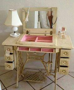 Maquina de coser - tocador