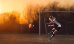 "After being dissatisfied with their team soccer photos, a good friend of mine asked if I could take some action shots of her two daughters playing the sport. I wanted to create an ""out of the box"" image that really showed their skills and passion for soccer. I consulted with another very good friend of [...]"
