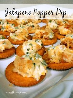 Num's the Word: This Jalapeno Popper Dip is easy to make and always a hit!  It's our families favorite dip!  Perfect for baby showers, weddings, parities or even just a night home.  No matter when or how you eat it, you'll be making it over and over again!