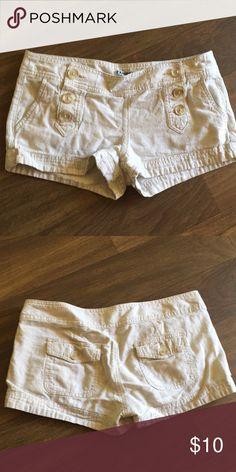 Express shorts Khaki sailor button up Express Shorts