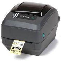 ZEBRA GK420 TT, USB, ETHERNET (10/100), 203 DPI (Network Label Printer)