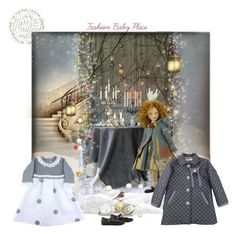 """""""fashionbabyplace.com - Christmas inspiration"""" by fashionbabyplace ❤ liked on Polyvore featuring Manuela de Juan"""