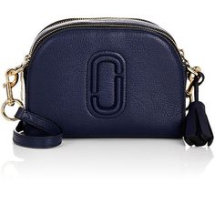Marc Jacobs Women's Shutter Small Camera Bag (1.350 RON) ❤ liked on Polyvore featuring accessories, tech accessories, navy, camera bag and marc jacobs