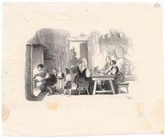 """Immagini manzoniane: bozze delle illustrazioni  per l'edizione de """"I Promessi sposi"""" del 1840 / n. 063"""