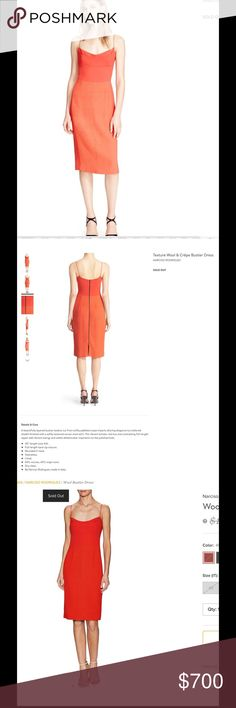 LOOKING FOR Narciso Rodriguez bustier dress I am looking to buy this dress . It was from his 2016 collection. I am searching for the dress in red size 8 or larger. Please let me know if u want to sell your dress to me, I really want this dress for a few weddings: this is the wool crepe bustier dress. I am willing to pay the full price for it.Thank you all! Narciso Rodriguez Dresses