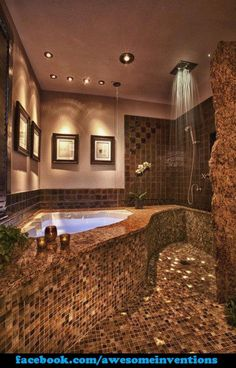 I soooooo want this bathroom