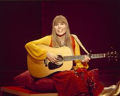Joni Mitchell on 'Mama' Cass Elliot's television special from January 18, 1969.