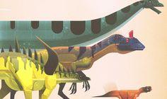 james-gilleard-folio-illustration-dinosaurs-l.jpg by Folio Illustration Agency Prehistoric Wildlife, Prehistoric Creatures, Dinosaur Design, Dinosaur Art, Dinosaur Drawing, Lonely Planet, Graphic Design Illustration, Illustration Art, Dino Park