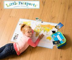 Inspire kids to learn about the world: Japan, Brazil, South Africa ... One country a month, packages arrive in the mail filled with letters, stickers, souvenirs, photos. Go explore.
