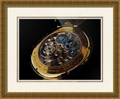 "Stuhrling Original Emperor's Tourbillon Watch // Paper: enhanced matte; Glazing: acrylic; Moulding: gold, arqadia gold carved; Top Mat: white/cream, snow white; Middle Mat: tan, gold bullion; Bottom Mat: white/cream, porcelain // Price starts at $174 (Petite: 22.5"" x 24.5""). // Customize at http://www.imagekind.com/Stuhrling-Original-Emperors-Tourbillon-ST_art?IMID=c07d5810-8a6e-483d-bf57-e3c0c60358b5"