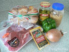 Poofy Cheeks: Italian Beef Sandwich Recipe