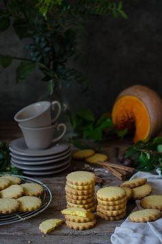 Galletas de calabaza y especias {Workshop con Eva Kosmas} | Pumpkin and spices shortbread cookies http://saboresymomentos.es