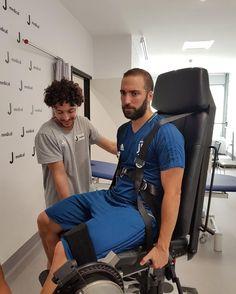 """Giornata di test medici allo #JMedical: è il turno di @ghiguain20_9! ⚪⚫️ #juve #juvetoday…"""""""