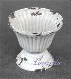 Svietnik kovový Blanc Antique