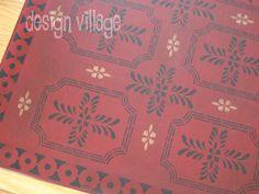 Bump Tarvern Floorcloth
