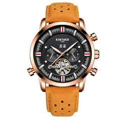f29fad54043 Item Type  Mechanical Wristwatches Brand Name  KINYUED Water Resistance  Depth  3Bar Case Shape