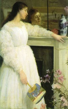 """""""Symphony in White #2""""  by James McNeill Whistler"""