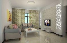 simple living wallpapers interior elegant feature dining decoration decorating ruang walls helena drawing itl tamu minimalis cat keluarga rooms sitting