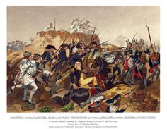 Saratoga. Continental Army victory gives the French confidence to enter the fray against the British.