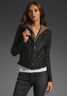 New leather jacket from Doma! Can't wait for Spring :)