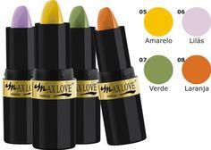 Max Love :: make-up - Mais qualidade, novas cores e novas embalagens!