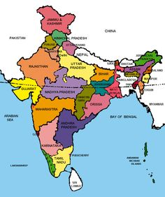 Political Geography of India, Indian geography, Physcial geography, States India World Map, India Map, India Travel, India India, Political Geography, Geography Map, History Book Club, History Books, Gernal Knowledge