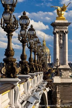 Pont Alexandre III, Paris France. © Brian Jannsen Photography