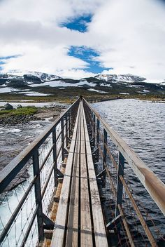 Chasing the Glacier - A Day in Finse, Norway Norway Travel, Top Place, Railroad Tracks, Travel Inspiration, Bridge, Places To Visit, Wanderlust, Star Wars, Adventure