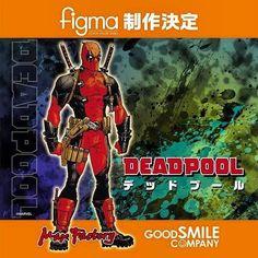 Figma Deadpool Figure In The Works.  #figma #deadpool #wadewilson #actionfigure #toys #toystagram #FLYGUY #twitter #googleplus