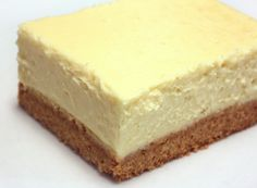 Limoncello Cheesecake Squares - Long recipe, see website. X