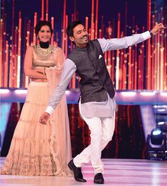 Jhalak saw actors Dhanush and Sonam Kapoor promoting their new film together, Raanjhanaa, on the show. #Bollywood #Fashion