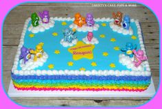 Care Bear Cake by Christy's Cake Pops & More - Easley, SC