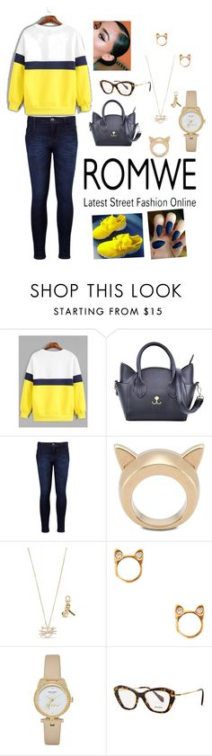 """Untitled #336"" by gorgeouslor ❤ liked on Polyvore featuring Levi's, STELLA McCARTNEY, Betsey Johnson, Kate Spade and Miu Miu"