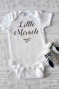 4dc1b5b65 Little Miracle Onesie/ Baby Wear/ Baby Onesie/ Shower Gift/ Graphic Onesies/  Custom Baby Onesies