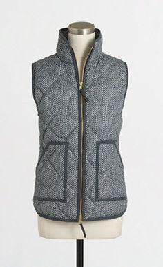 Tweed Herringbone Vest – Sweater Weather Co.