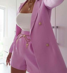 Glamouröse Outfits, Blazer Outfits, Teen Fashion Outfits, Suit Fashion, Cute Casual Outfits, Look Fashion, Stylish Outfits, Womens Fashion, Fashion Trends