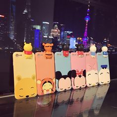 Cheap case for iphone, Buy Quality silicone case directly from China case for iphone 6 Suppliers: Cute Mickey Minnie Mouse Donald Duck Case For iphone 6 Plus Cartoon Case For iphone 7 Plus Soft Silicon Case Capa Fundas Iphone 7 Plus, Iphone 5s, Iphone 6 Cases, Coque Iphone, Apple Iphone 6, Phone Covers, Cute Cases, Cute Phone Cases, Mickey Minnie Mouse