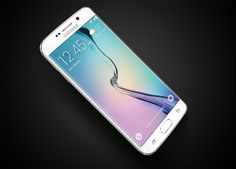Samsung Galaxy S6 Edge 1 • TheCoolist - The Modern Design Lifestyle Magazine