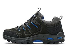 59a0218410df Hanxue Mens Waterproof Trail Shoe Hiking Shoes Grey 11     See this great  product.
