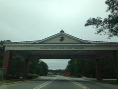 Camp Lejeune Main Gate in Jacksonville, NC