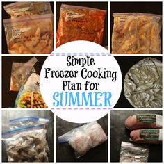 Are you looking for some easy meals this summer that the kids will actually eat? I've got you covered with this super simple, yet totally delicious freezer meal plan.