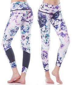 ♡ Women's Victorias Secret Floral Capris | Fitness Apparel | Must have Workou