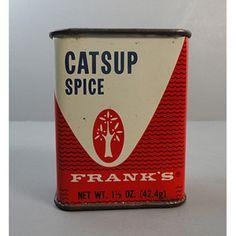 Frank's Catsup Spice Tin