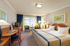 Doppelzimmer im Strandhotel Bansin