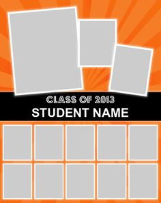 "Poster Template. Use our FREE software to create a poster for your graduating senior. Many design templates available, or design your own. Posters are 23"" x 29"". Mount and laminate options available. Go to www.focusinpix.com for more information."