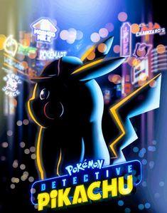 Detective Pikachu Neon City by rubtox on DeviantArt Ryan Reynolds, Kathryn Newton, Pokemon Fan, Pokemon Stuff, Pokemon Watch, Film Pokemon, Play Pokemon, Boxing Day, Detective