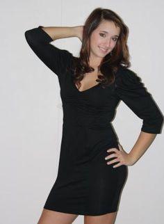 Ruched Shoulder Dress,  Dress, Ruched Shoulder Dress, Chic